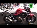 2018 Honda CB500 F - Walkaround - 2017 EICMA Milan Motorcycle Exhibition