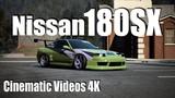 NFS CINEMATIC NISSAN 180SX VIDEOS 4K KEEP DRIFTING FAN!