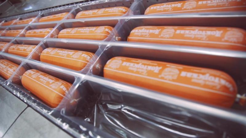 Вкусная колбаса ЕРМОЛИНО: экскурсия на производство.