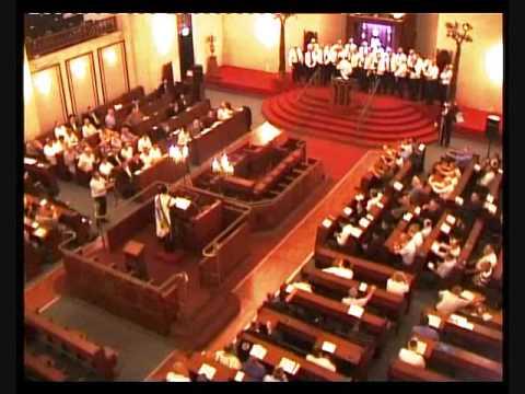 Chazzanut: Maariv prayer with Cantors: Blayer, Bergman and Adler