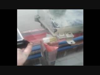Замена радиатора печки Лада Калина без снятия панели! Полезное видео!