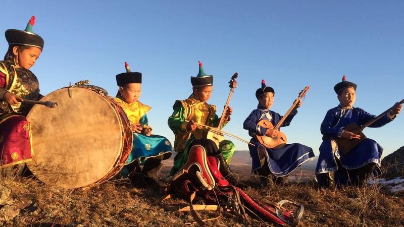 Образцовый фольклорный ансамбль Кенгирге младшая группа, г Чадан Республики Тыва