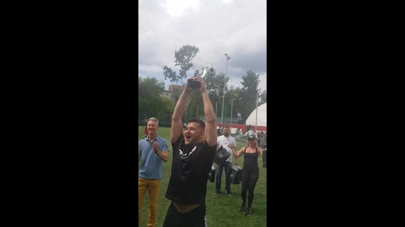 Кубок уехал из Москвы в Нино