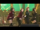 Южнокорейская группа впервые выступает в Северной Корее
