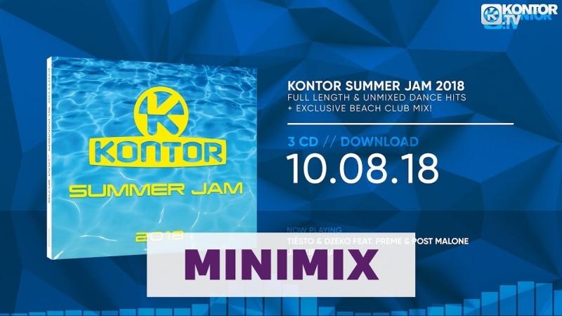 Kontor Summer Jam 2018 (Official Minimix HD.Kontor.TV)