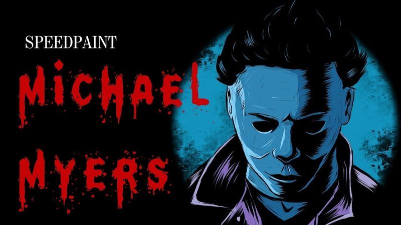 [ SAI ] Speedpaint - Michael Myers/Halloween