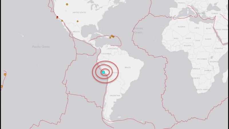 Sismo de 5 8 se registra en Perú│No hay alerta de tsunami