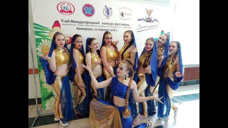 Коллектив индийского и восточного танца Падма, Кейси, (Dhoom Taana - Om Shanti Om)