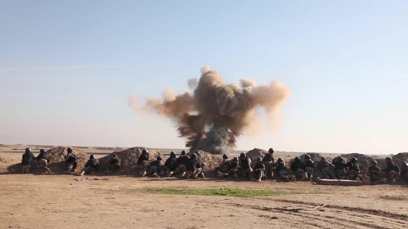 CTS Explosive Ordnance Training BESMAYA, IRAQ 16.12.2018