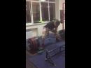 Котенко Данил и его первые 300кг в тяге