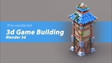 [Timelapse] Modeling a 3d Pre-rendered Watchtower building for a Mobile / PC game in blender