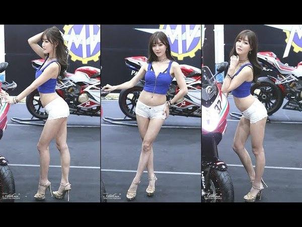 2018 모터사이클쇼 -최슬기 (崔瑟琪, cui se qi) MV아구스타 부스 포토타임 직캠 fancam by Athrun