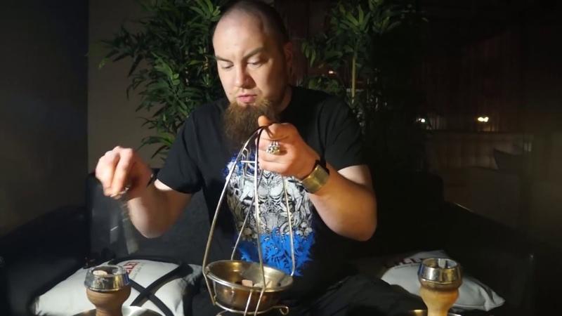 Как забить кальянный табак Extreme KM. Чаши - турка и UPG