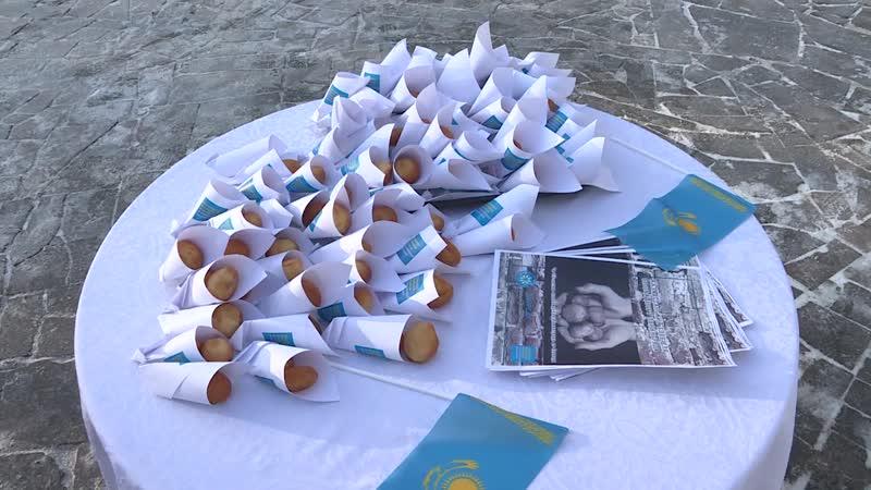Қазақстандық нан блокадалық Ленинград үшін ацкиясы Акция Казахстанский хлеб для блокадного Ленинграда