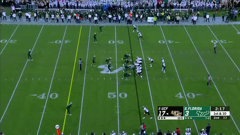 NCAAF 2018 Week 13 UCF at South Florida