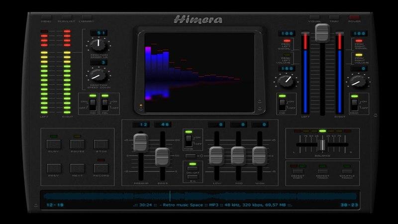 Retro music Space