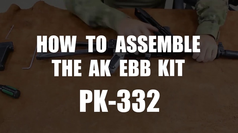 LCT Airsoft PK-332 AK EBB Kit (Short) Assembly
