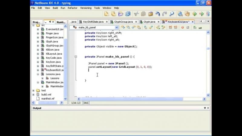 KeyboardGUI Регистрируем клавиатуру в главном окне приложения Урок 196
