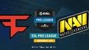 FaZe vs Na`Vi - ESL Pro League S8 EU - bo1 - de_overpass [CrystalMay, Smile]