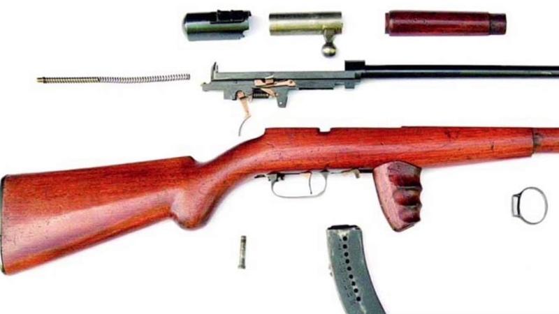 Пистолет-пулемет Токарева. ППТ-27 и патрон к нему