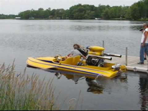 No Joke Hydroplane Run Carleton Place Car Show 2010