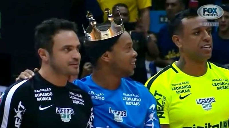 Ronaldinho Skills Show vs Denilson Team 09/12/2018 ● JOGO DO LEGENDS
