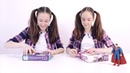 Страна девчонок • СУПЕРМЕН, СОНЯ и ПОЛИНА обзор новых бластеров НЕРФ РЕБЕЛЛ NERF REBELLE.