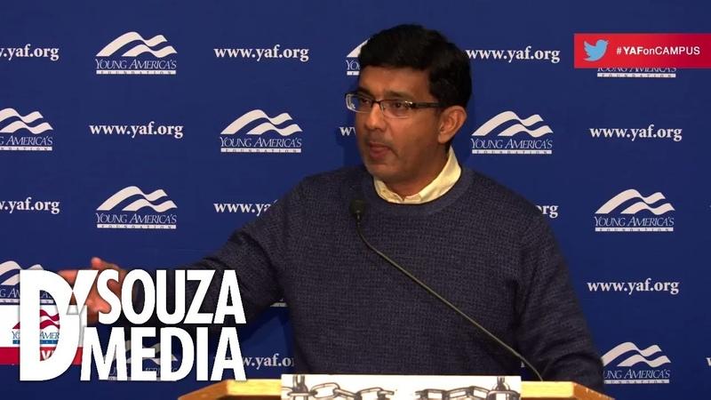 D'Souza embarrasses leftists at Brandeis U
