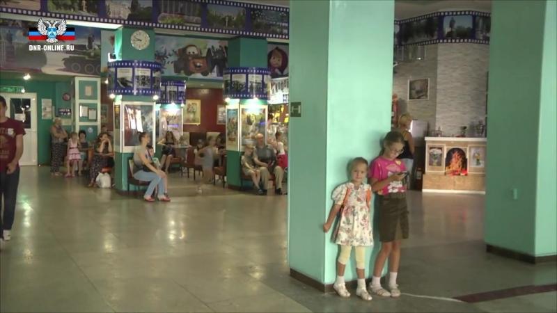 Дети военнослужащих посетили Дом кино им Шевченко