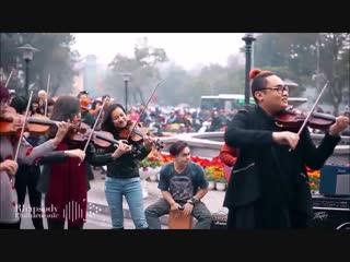 Beautiful Avicii Orchestral Flash Mob