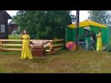 8 июля 2018.На празднике в Засурье.Деденко О.П. с дочерью Кристиной. Песня