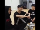 Donghyuck leaned his head on mark's shoulder