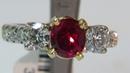 AvisDiamond: Burma / No heat Pigeon Blood Ruby Ring