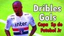 Jonas Toró ◕ Dribles Gols Copa SP de Futebol Jr São Paulo FC 2018 HD