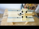 Building a Benchtop Router Table Masaüstü Freze Tezgahı Yapımı