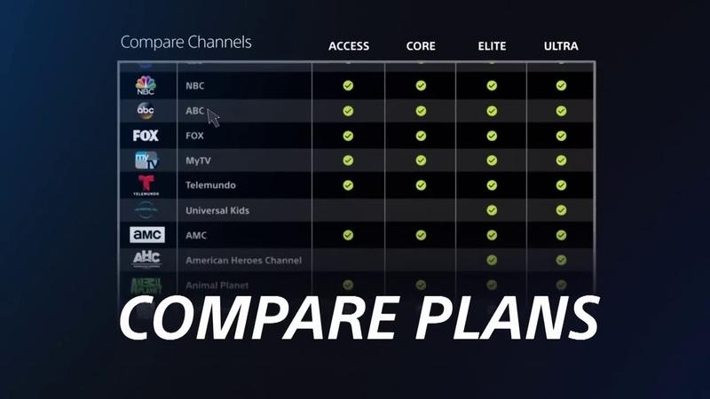 PlayStation Vue Управление Подписками