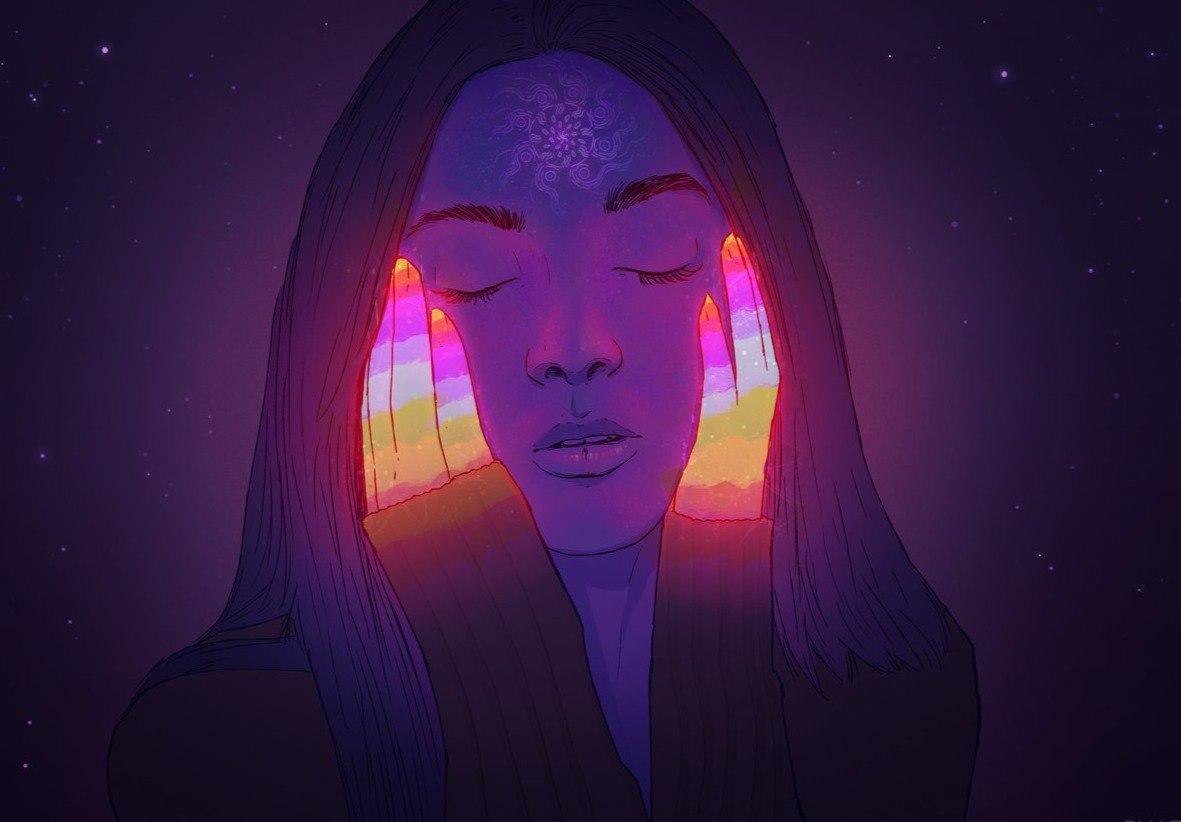 Внешность вещей меняется согласно настроениям, и поэтому мы видим волшебство и красоту в них, тогда как волшебство и кра