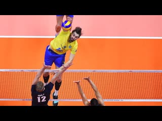 TOP 10 Bests Volleyball Spikes by Lucas Saatkamp 2018 World Championship