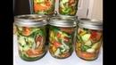 Салат ДОНСКОЙ на зиму. Хрустящие и ароматные овощи круглый год! Готовьте побольше!.