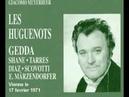 Les Huguenots : Gedda Shanes Diaz Tarres Scovotti
