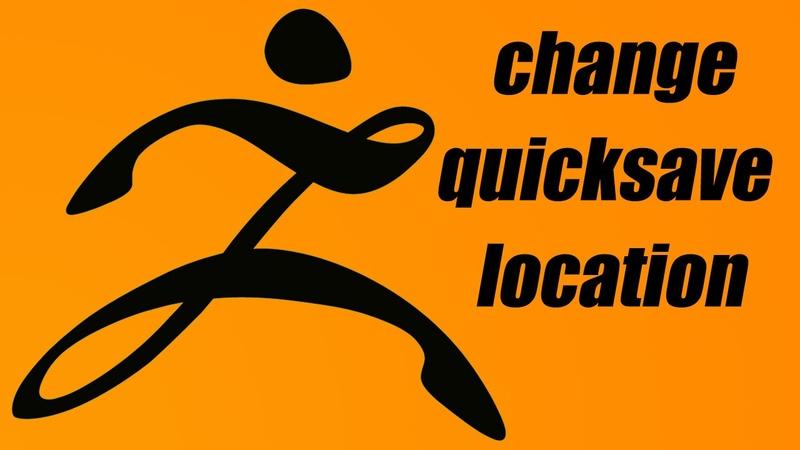 Change Zbrush Quicksave Location (Windows)