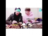 This moment where yoongi just inhales his lettuce after jin scolded him lmaoo - EatJinChallenge -