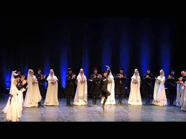 Сухишвили Ансамбль народного танца Грузии в Хайфе. нобрь 2015 г.