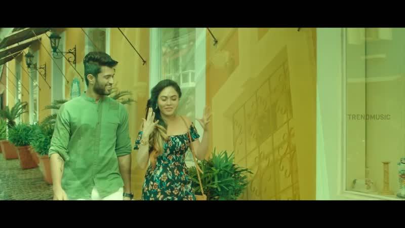 Nee Venakale Nadichi Music Video ¦ Vijay Devarakonda ¦ Malobika ¦ Chinmayi ¦ TrendMusic