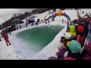 Red Bull Jump and freeze 2018 - Мальвина