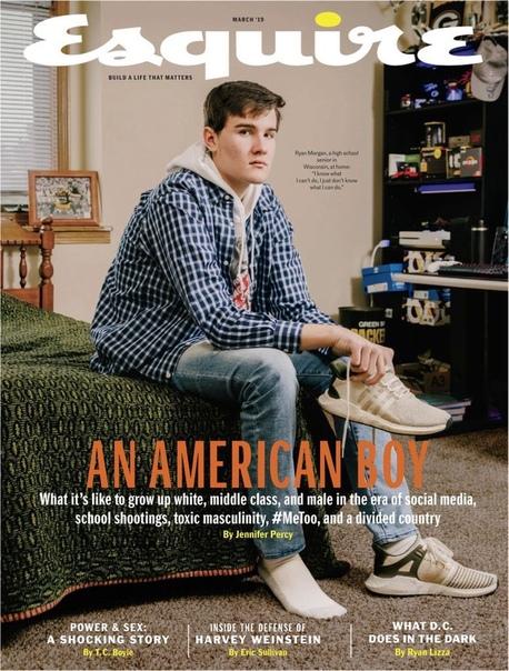 Темой номера Esquire стала жизнь белого гетеросексуального парня в США. Изданию пришлось отвечать на обвинения в расизме Подросток рассказал, как тяжело жить, если ты не принадлежишь ни к одному