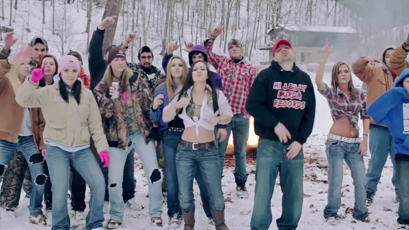 Buckwild Free - Mini Thin (Official Video) RIP Shain country rap redneck hick hop