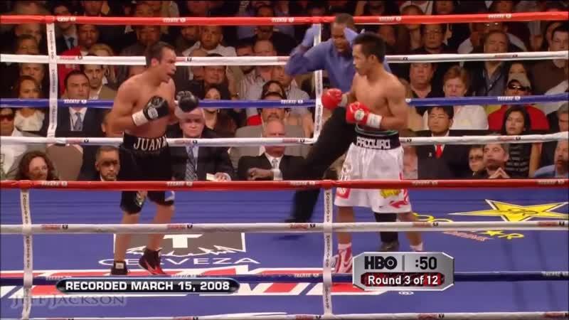Мэнни Пакьяо - Хуан Мануэль Маркес 2 ✰ HIGHLIGHTS