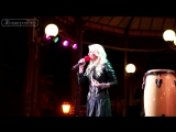 Анастасия Букина и Юрий Кузнецов. Odessa Jazz Fest 2013. Горсад.