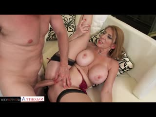 Sara jay [ mothers / big ass , pussy , shaved , cumshot on chest , jerking off]